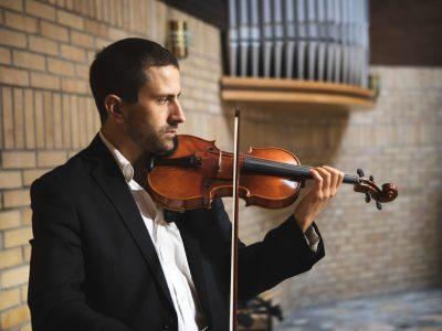 skrzypce na ślub foto: Trytkomedia