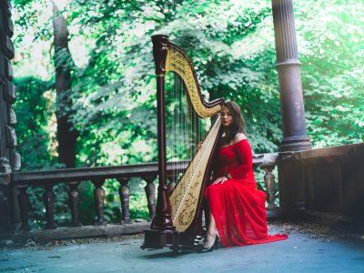 harfa na ślub