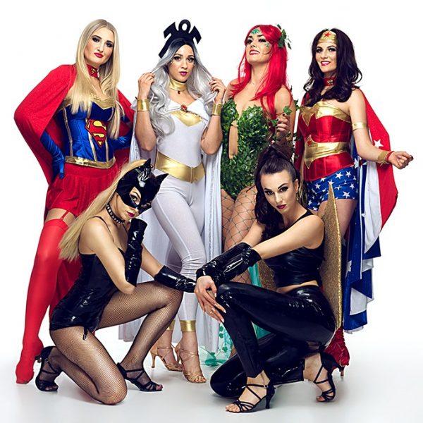 woman superhero show