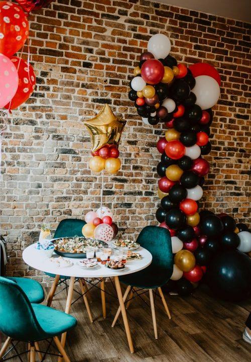 balony girlanda