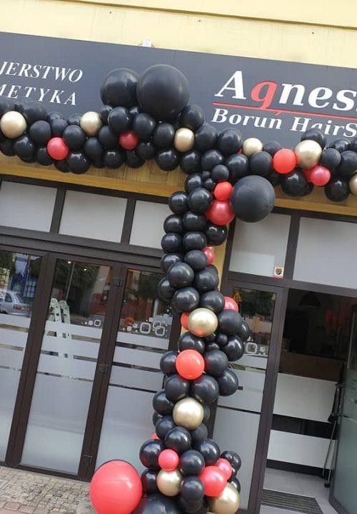 dekoracja balony brama balonowa