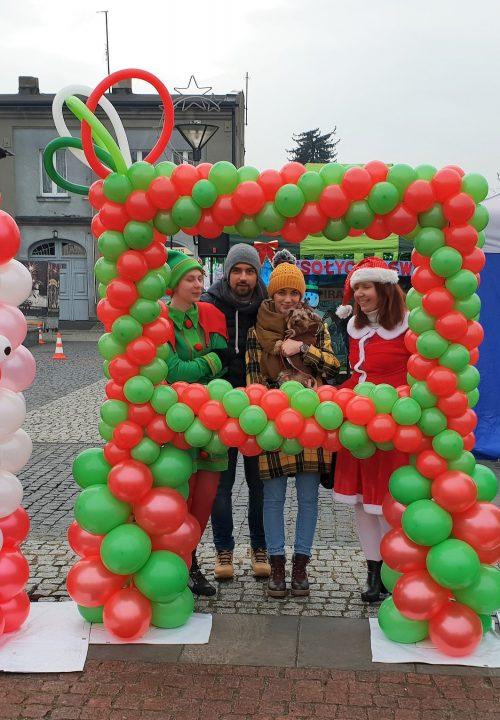 dekoracje balonowe święta bożego narodzenia