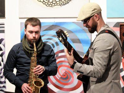 duo gitara saksofon