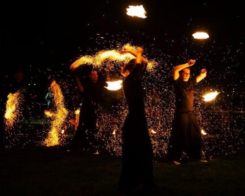 fireshow  foto www.bedzin.pl