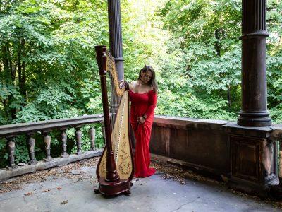 harfa skrzypce