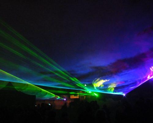 lasery przestrzenne