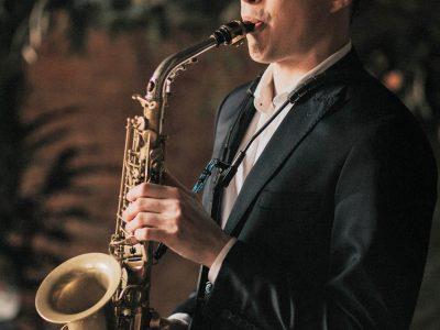 saksofon na ślub