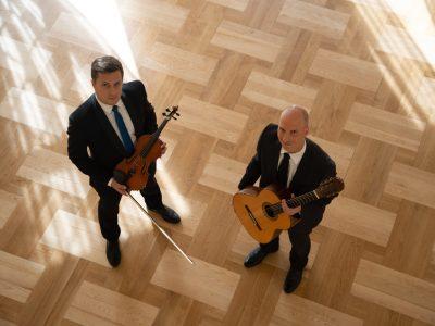 skrzypce i gitara foto: Wojciech Korpusik